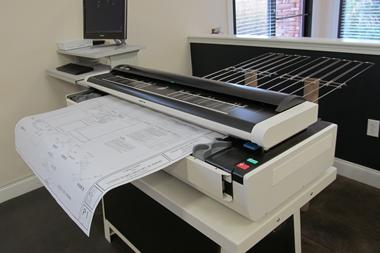 Wide Format Color / Blackline Digital Scanner