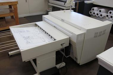 KIP Wide Format High Speed Digital Printer