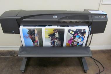 HP DesignJet 800 Inkjet Plotter