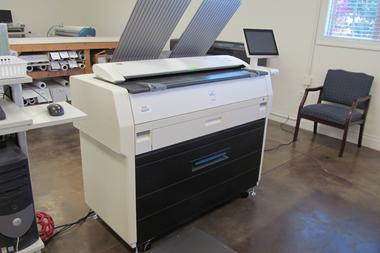 KIP Wide Format Digital Printer / Scanner Combo