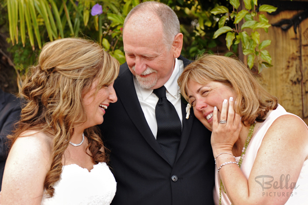 Include both your parents on your wedding day