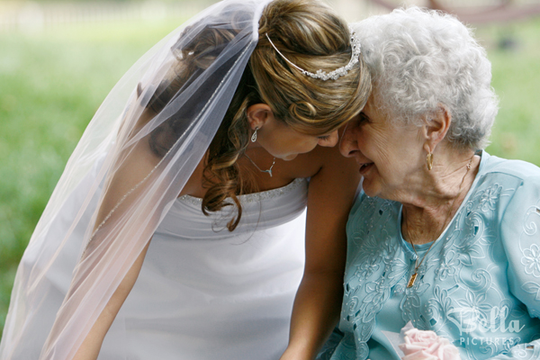 Celebrating Grandma and Mom on your wedding day