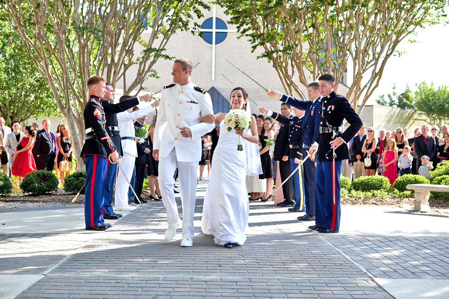 Military wedding photography 03
