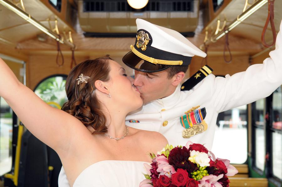 Military wedding photography 07