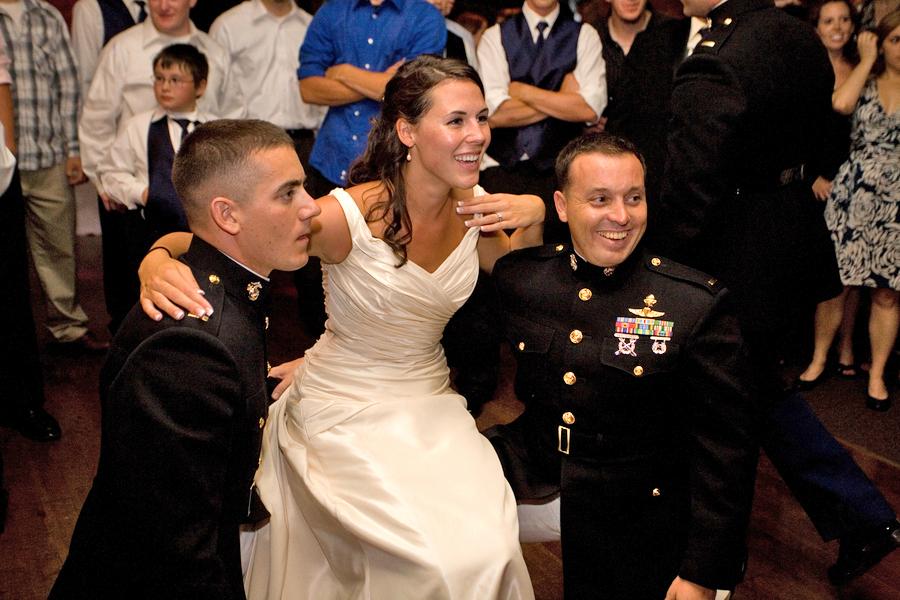 Military wedding photography 09