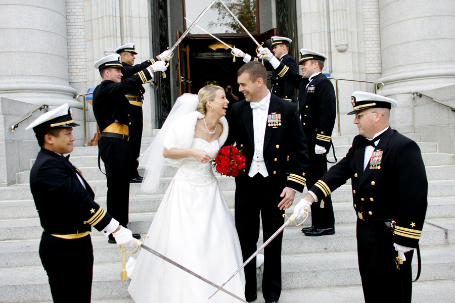 Military wedding photography 10
