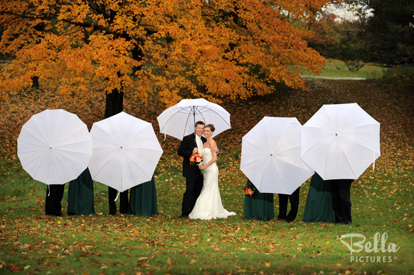 Fabulous Rainy Day Wedding Photogrpahy