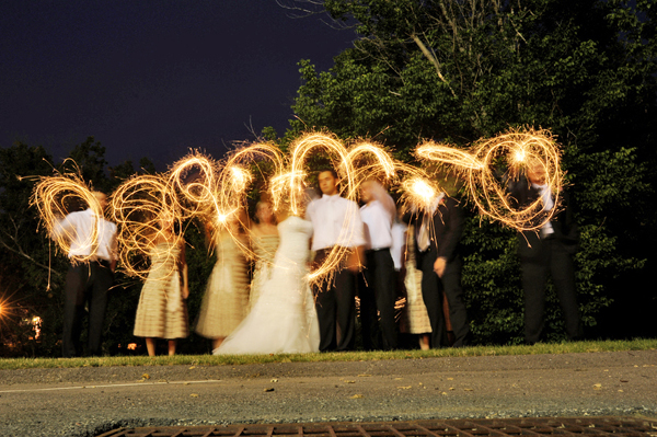 wedding sparklers photography 01