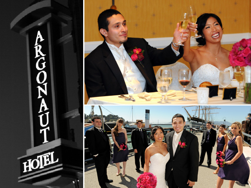 Argonaut Hotel wedding photography 01