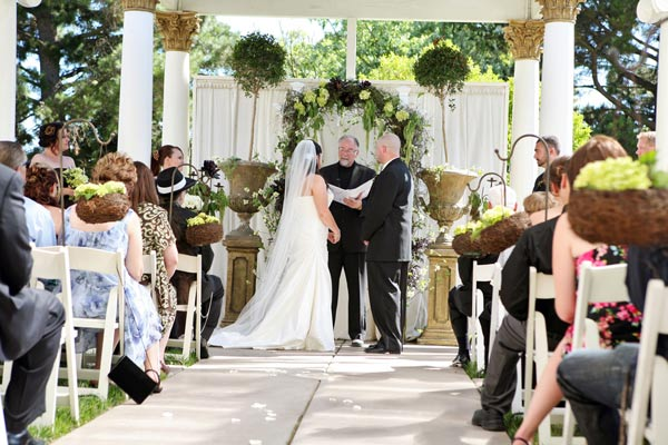 jefferson st. mansion wedding ceremony