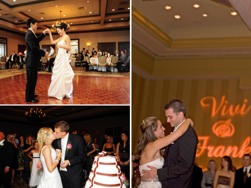 indoor wedding reception at landsdowne resort