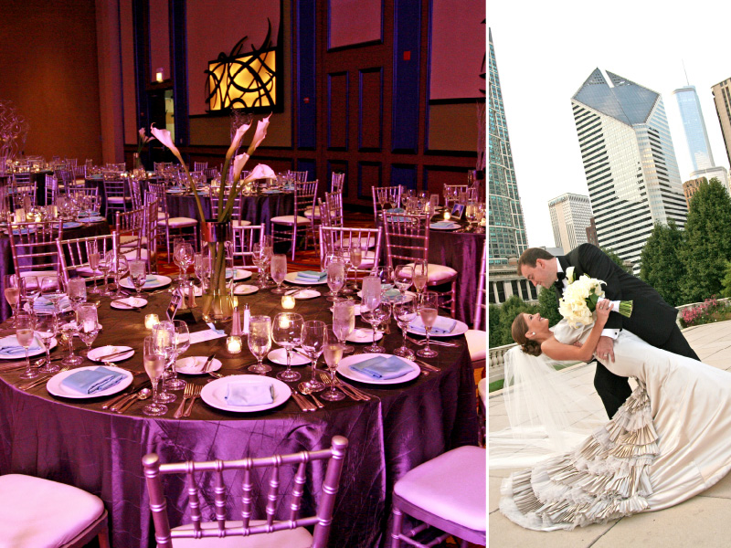 Chicago Marriott Magnificent Mile wedding photo 01