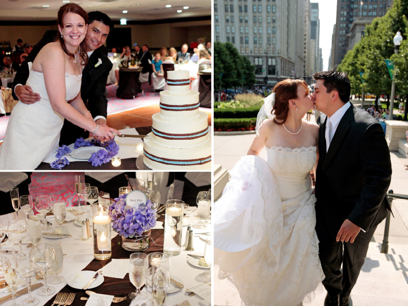 Chicago Marriott Magnificent Mile wedding photo 03