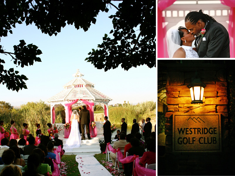 Westridge Golf Club outdoor wedding compilation