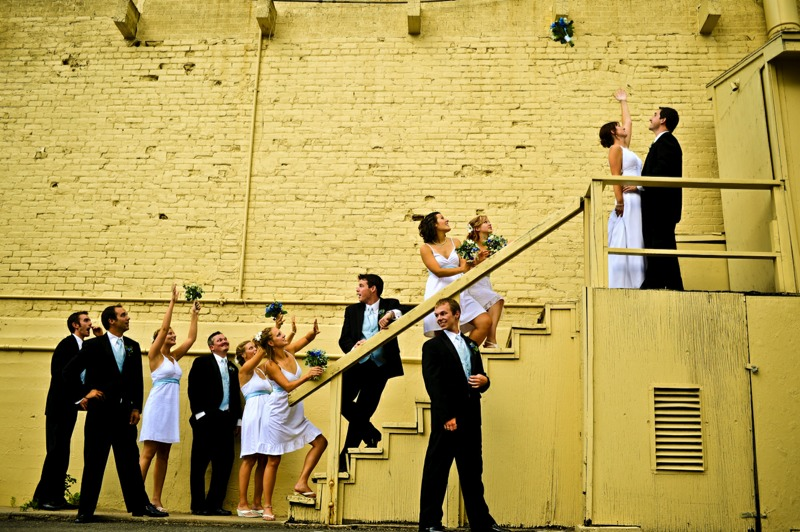 Industrial Wedding portrait photography 03