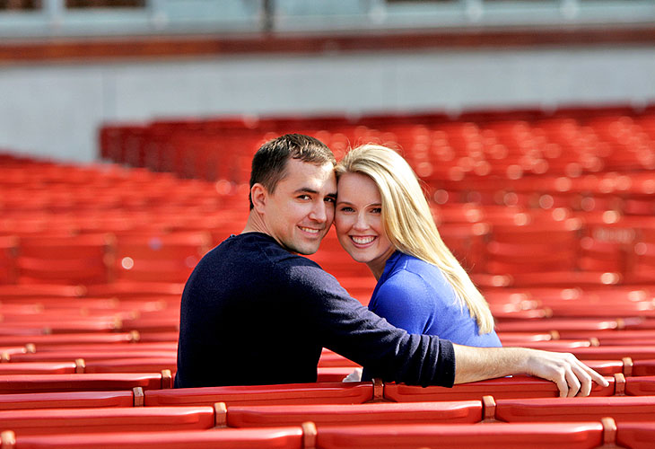 Millenium Park Jay Pritzker Pavilion Chicago Illinois engagement photography 1