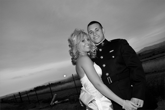 bride and groom military wedding photography san diego