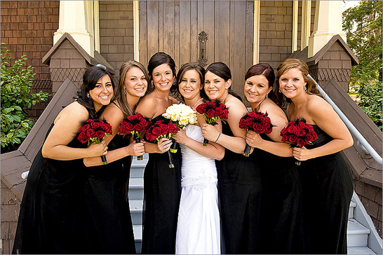 bridal party san francisco california