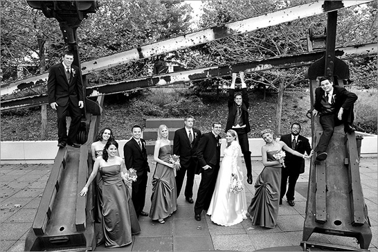 wedding party chicago, illinois