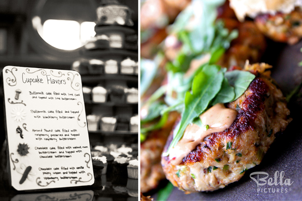 Sustainable wedding menu - local food