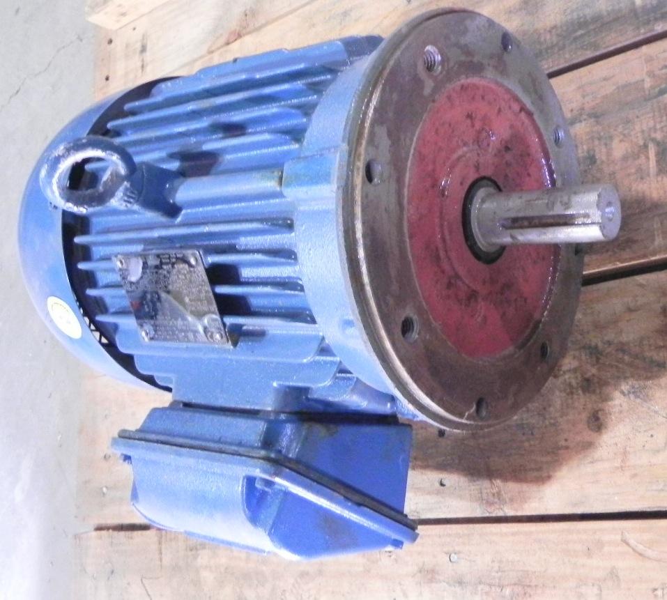 Weg electric motor te1bfoxon 5hp 575v ebay for Weg severe duty motor