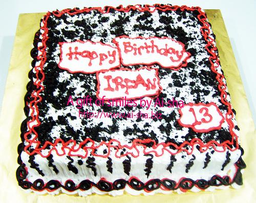 Birthday Cake Ai-sha Puchong Jaya