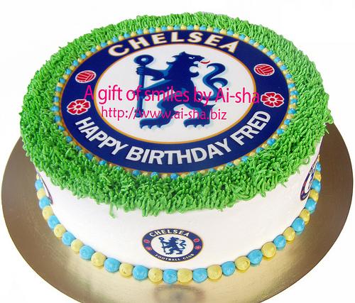 Birthday Cake Edible Image Chelsea