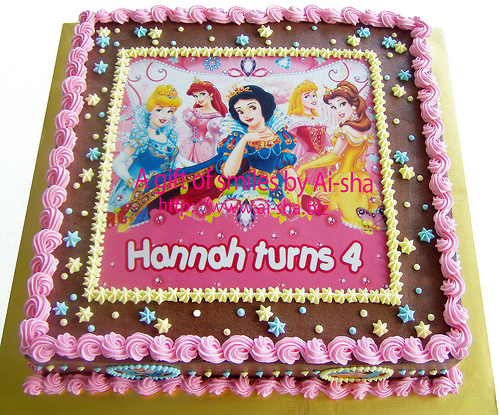 Birthday Cake Edible Image Disney : Disney Princess Edible Images For Cakes images