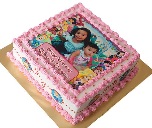 Birthday Cake Edible Image Disney Princess Ai-sha Puchong Jaya
