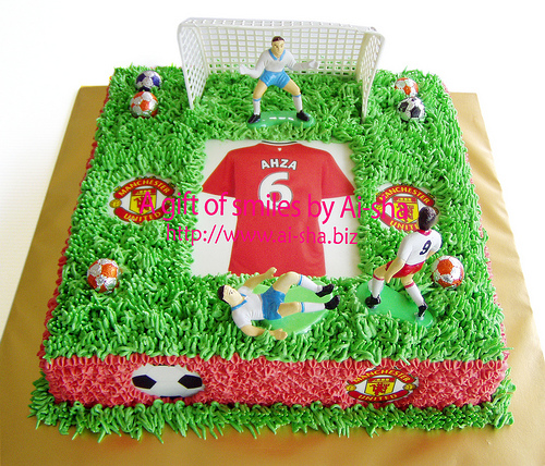 Birthday Cake Edible Image Manchester United
