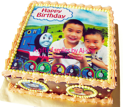 Birthday Cake Edible Image Thomas & Friends