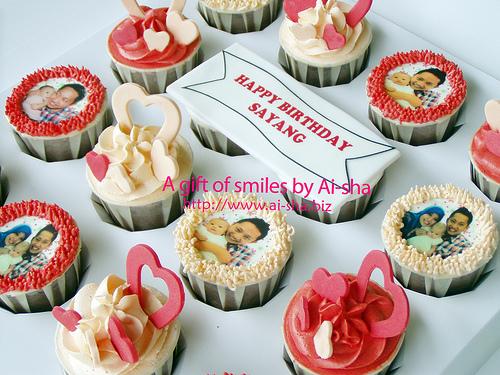 Birthday Cupcake Edible Image
