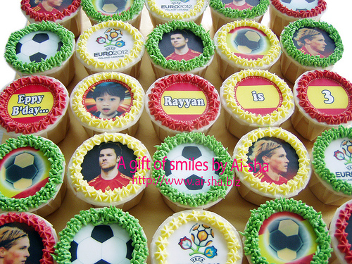 Birthday Cupcakes Edible Images