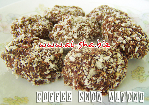 COFFEE SNOW ALMOND