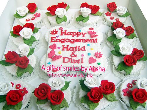 Enggagement Cupcakes