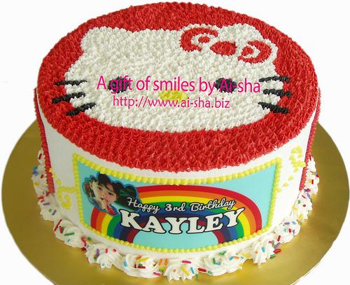 Rainbow Cake Ai-sha Puchong Jaya