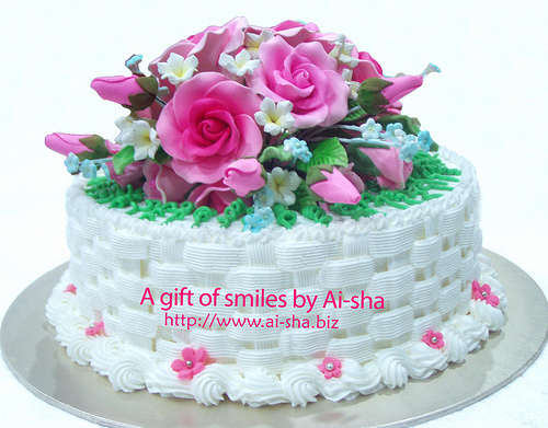 Wedding Cake Ai-sha Puchong Jaya