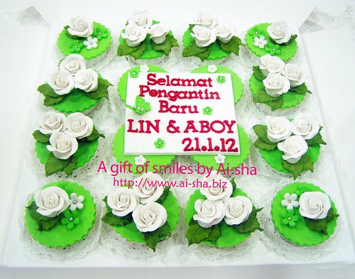Wedding Cupcakes Ai-sha Puchong Jaya