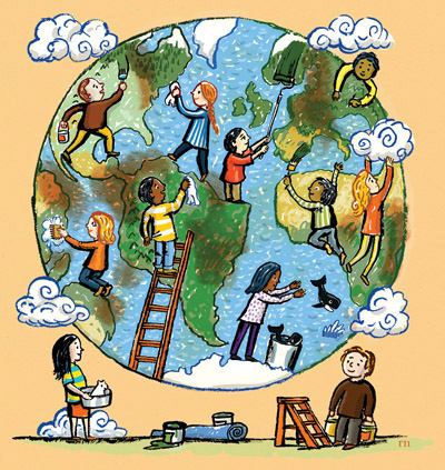 mother earth essay for kids
