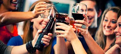 La instrucción para los padres el alcoholismo