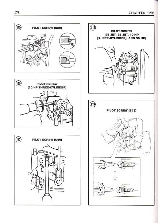 repair yamaha motor manual outboard