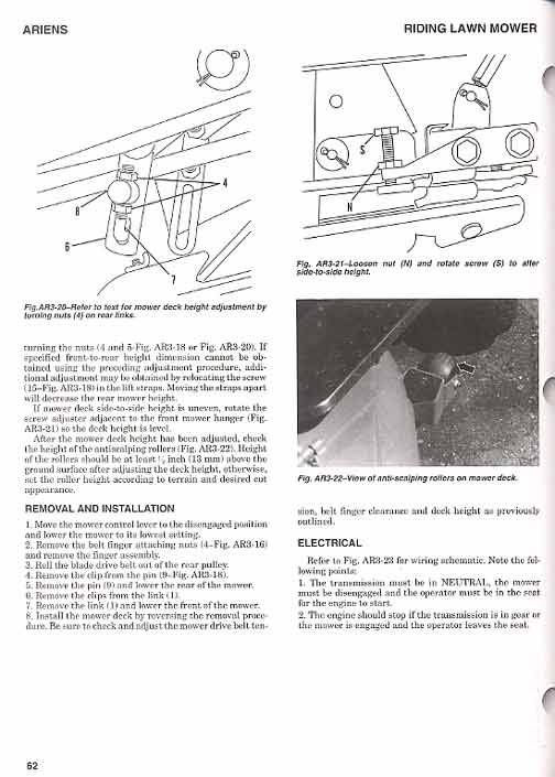 Contents contributed and discussions participated by micheal welton riding lawn mower service manual fandeluxe Images