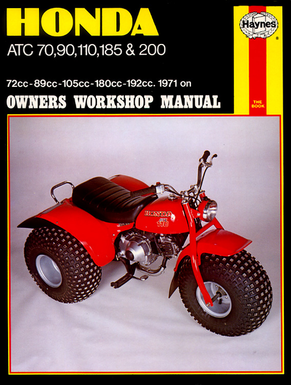 honda online atv service manual