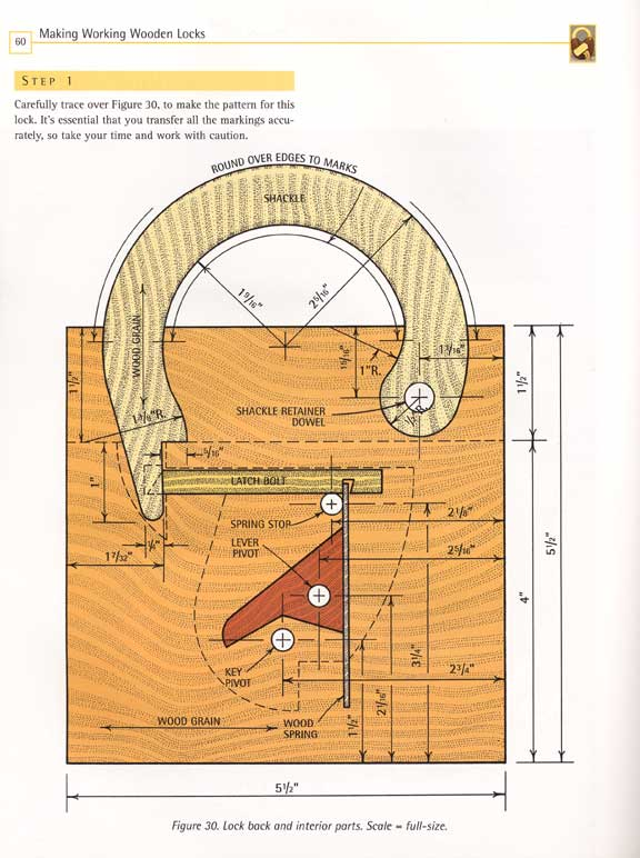 Wooden Plans Wooden Lock Plans PDF Download wooden footstool plans