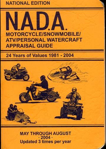 Nada Motorcycle And Kelley Blue Book Motorcycles Nada