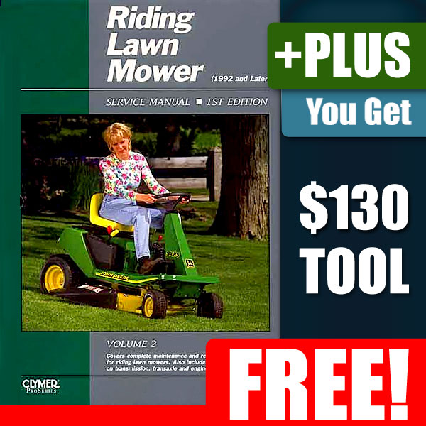 craftsman lawn tractor repair manual