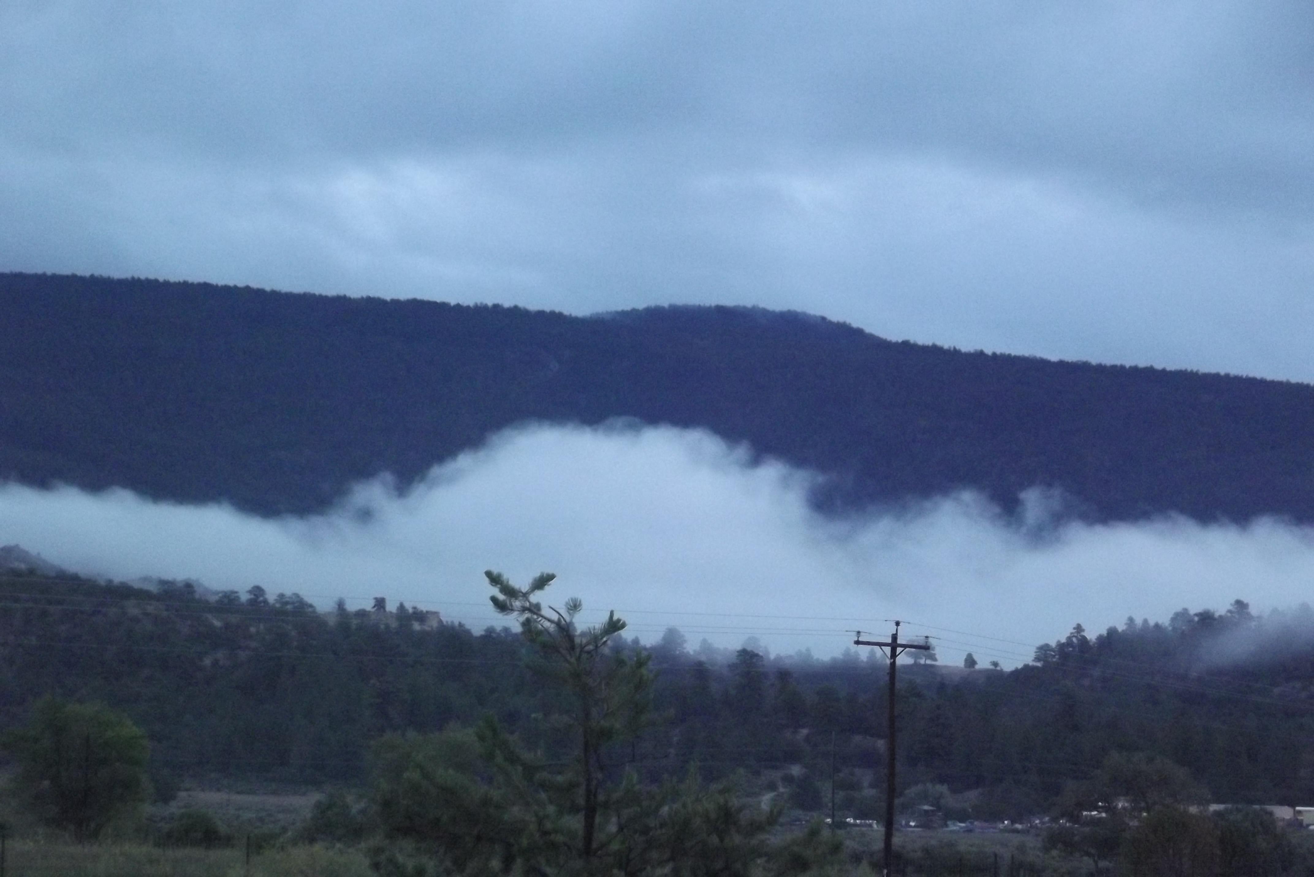 Enshrouded Jemez Ridge