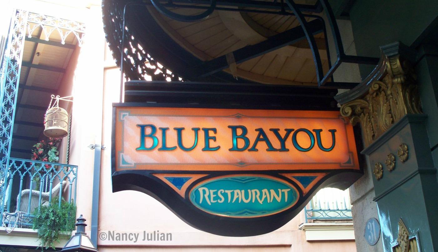 The Blue Bayou in Disneyland