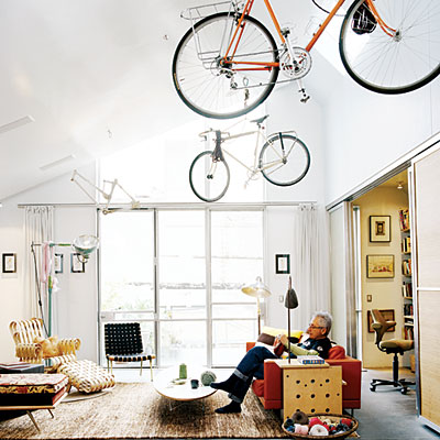 Boomeon don 39 t forget the ceiling - Bike storage for small spaces image ...