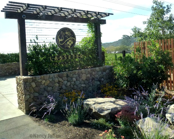 Lasseter Winery in Central California